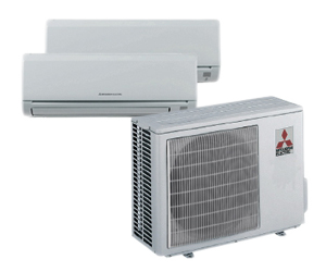 mitsubishi multi split system - acsis air